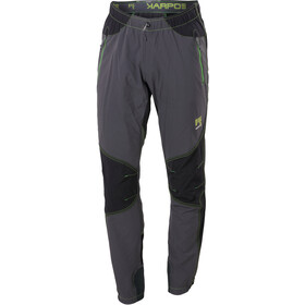 Karpos Rock Pantalones Hombre, dark grey/black/apple green